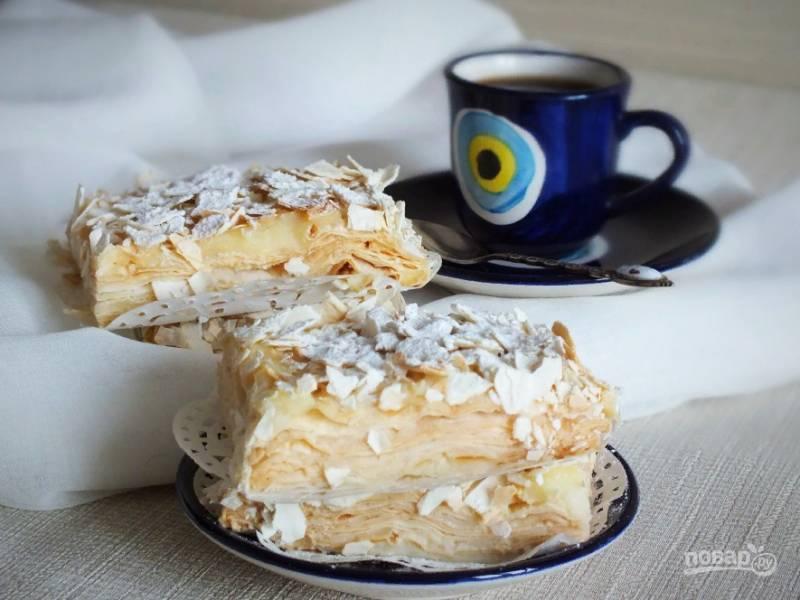 """Торт """"Наполеон"""" из лаваша"""