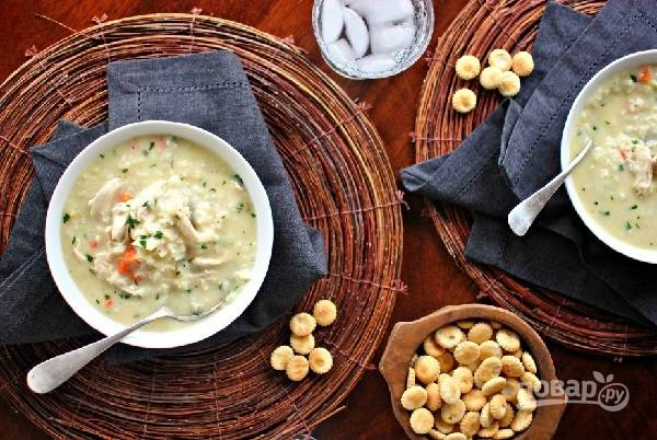 Рецепт рисового супа с курицей
