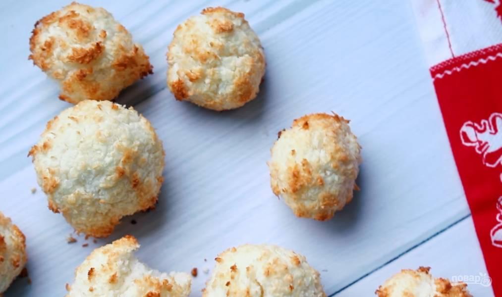 Кокосовое ПП-печенье за 15 минут