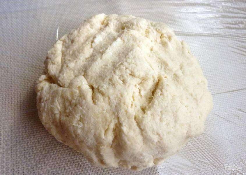 Творожное бездрожжевое тесто