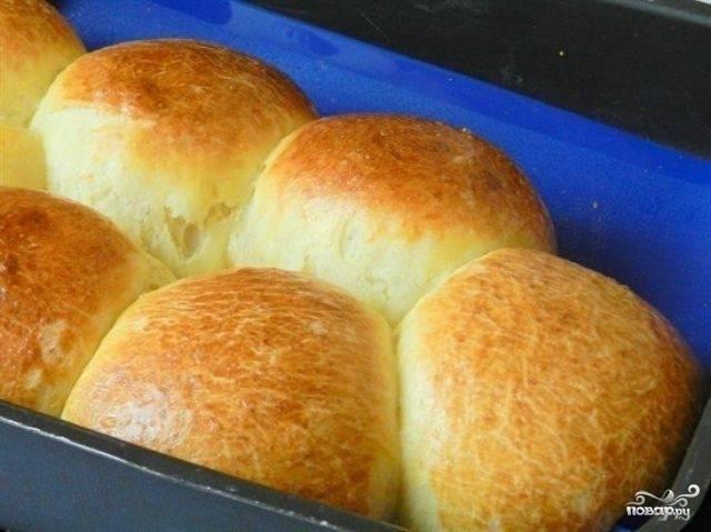 Творожные булочки на дрожжах