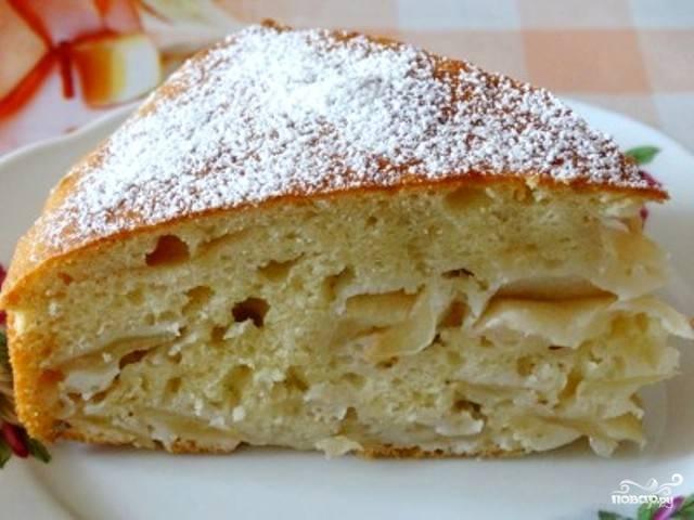 Пирог на кислом молоке