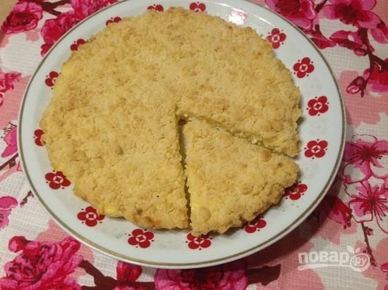 А вот на второй день пирог станет очень нежным и даже еще вкуснее.