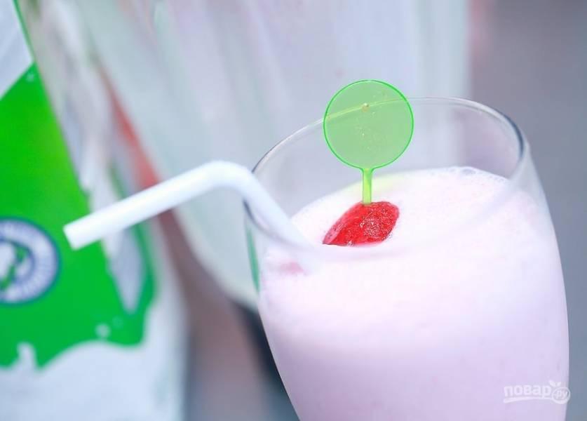 Простой рецепт молочного коктейля