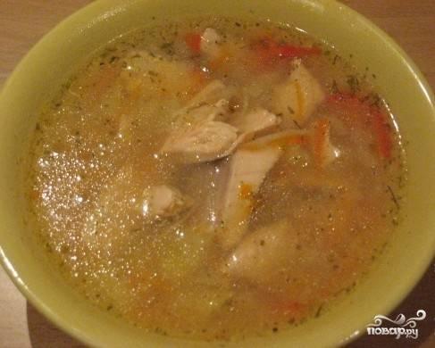 Наш суп готов!