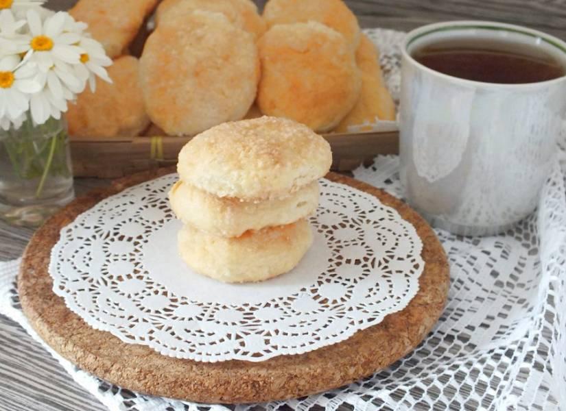 Подавайте печенье полностью охлажденным. Приятного аппетита!