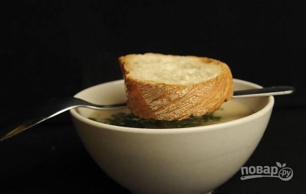 Французский чесночный суп