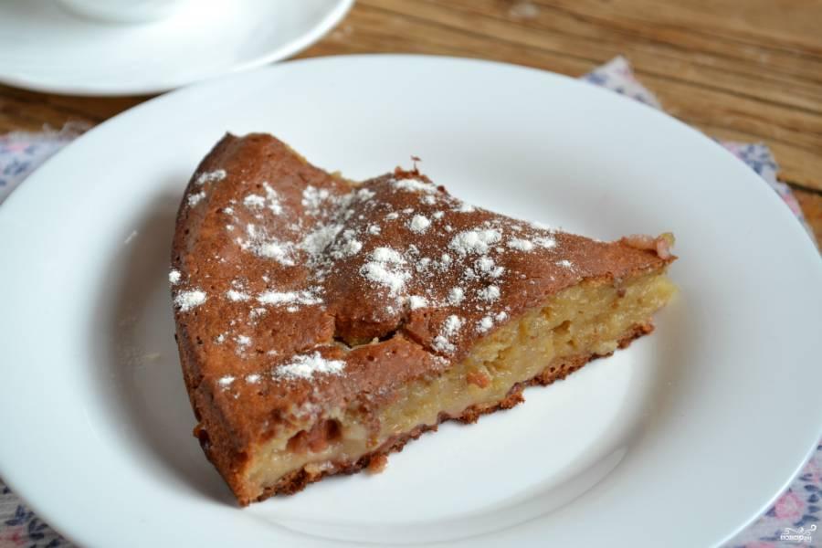 Вишневый пирог на кефире