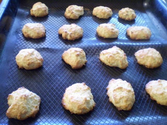 8. Печенье готово. Снять с противня.