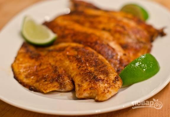 4. Подавайте рыбу сразу же. Приятного аппетита!