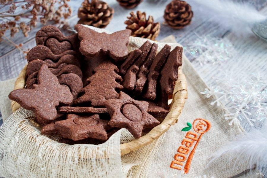 Печенье остудите полностью, храните в плотно закрытой емкости. Приятного аппетита!