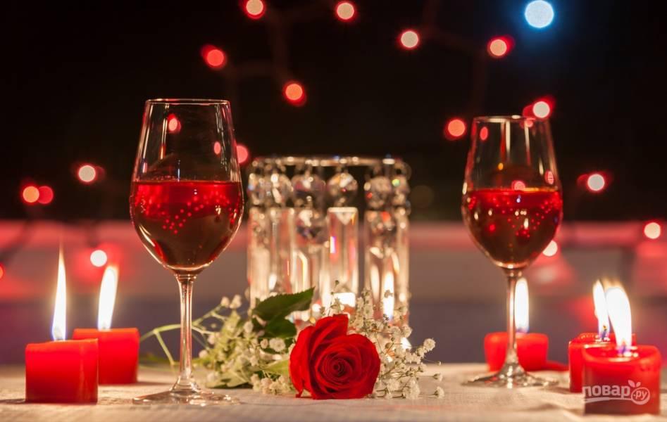 Что приготовить в День Святого Валентина! Идеи для романтического ужина