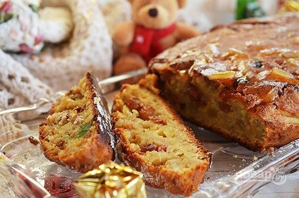 Немного остудите и посыпьте сахарной пудрой! Приятного аппетита! И Счастлвого Рождества!