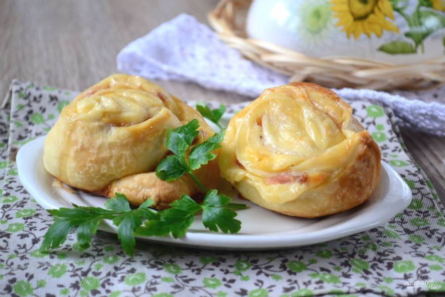 Закусочные булочки (классная идея!)