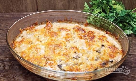 """7. Перед подачей мясо """"По-царски"""" можно дополнить свежей зеленью. Приятного аппетита!"""