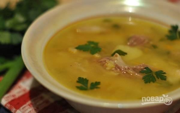 Гороховый суп обычный
