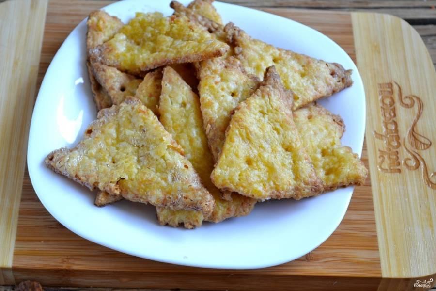 Запекайте печенье в духовке 15-20 минут до золотистого цвета.
