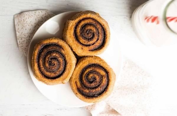 Тыквенно-шоколадные булочки