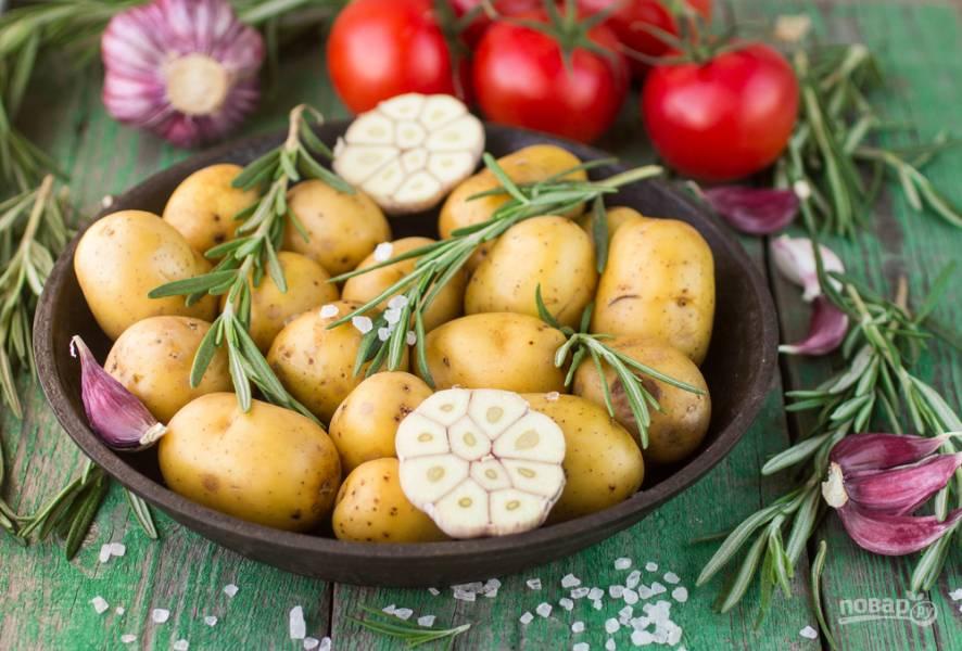 Девайсы для быстрой чистки картошки