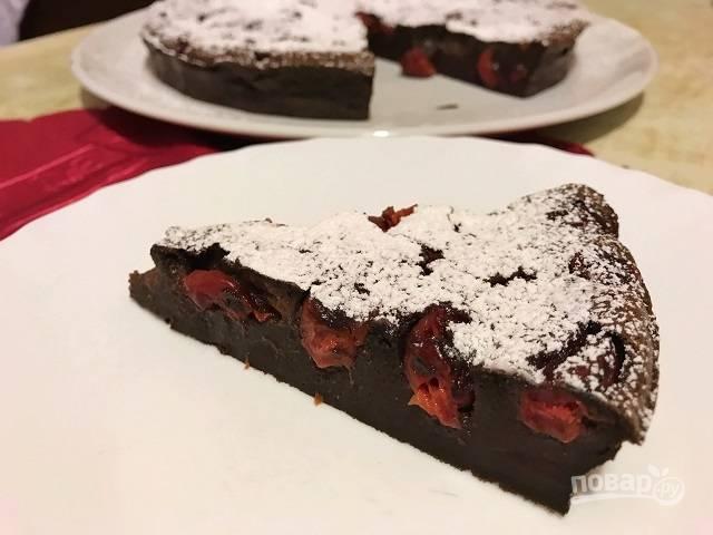 Шоколадный клафути