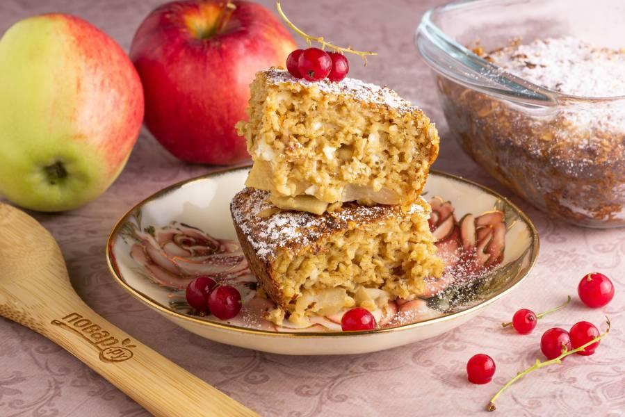 Яблочный пирог ПП