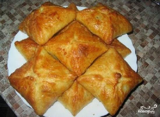 Малиновые пирожки