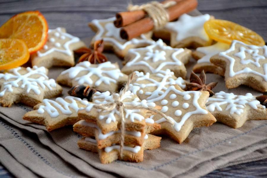 Имбирное печенье на рисовой муке