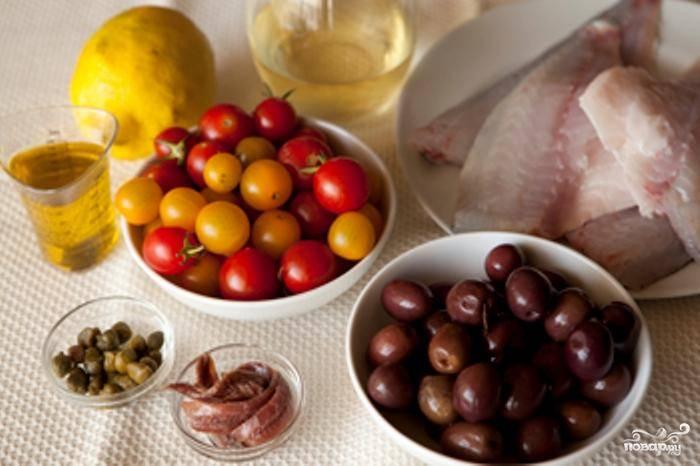 Это наши ингредиенты - сверяемся, ничего не забыли?:)