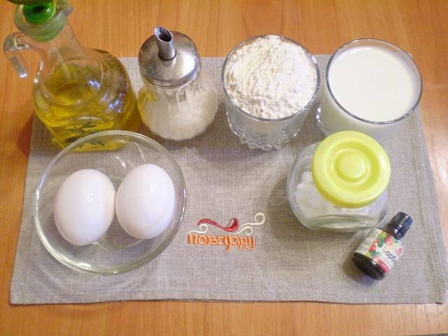 Сначала подготовим все необходимые продукты. Это значительно экономит время в процессе готовки и позволяет обойтись без суеты в дальнейшем.