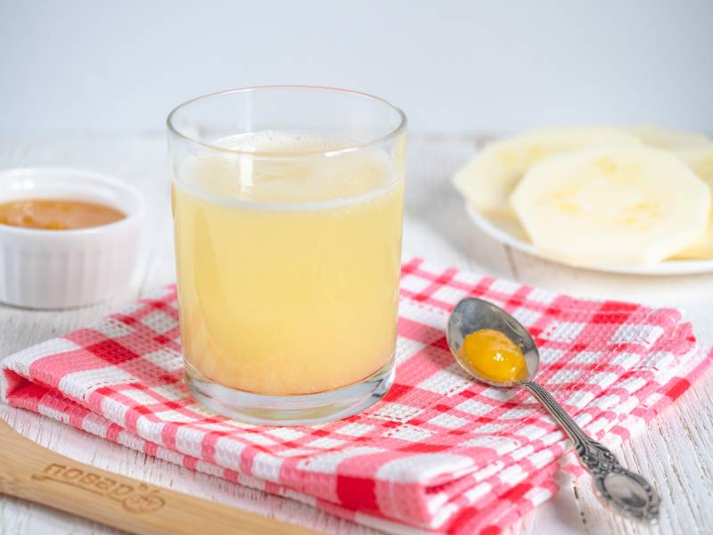 Сок из кабачков