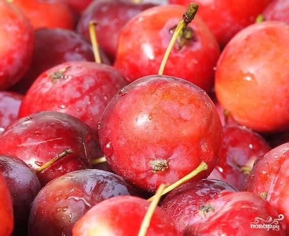 Яблоки переберите и помойте. Проколите каждый плод зубочисткой в трёх местах.