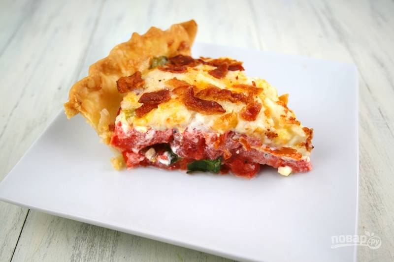Майонезный пирог