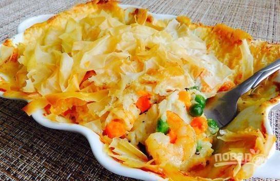 Запекайте блюдо в течение 30 минут в разогретой до 190 градусах духовке. Приятного аппетита!