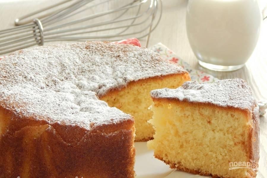 бисквит из сухого молока рецепт с фото столько