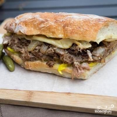 11. Кубинский сэндвич готов! Приятного аппетита!