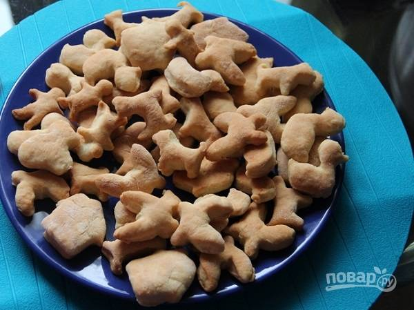 Печенье с рассолом