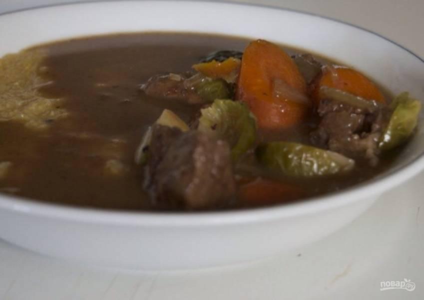 5. Подавайте блюдо горячим. Приятного аппетита!