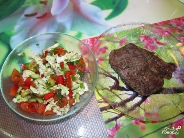 Салат к стейку