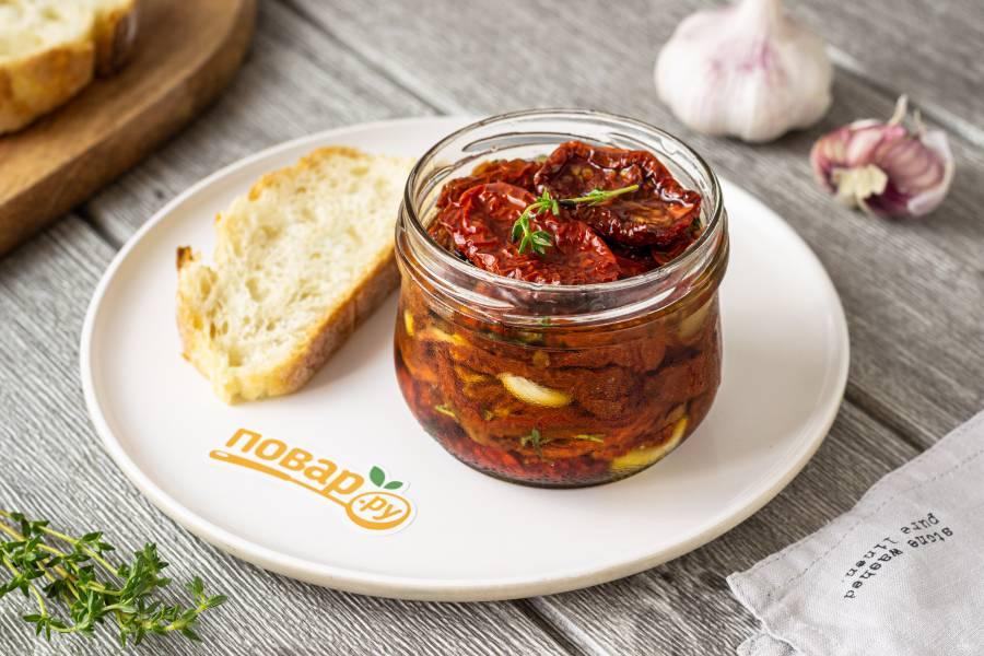 Сушеные томаты в масле