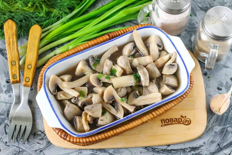 диетические блюда из шампиньонов рецепты фото