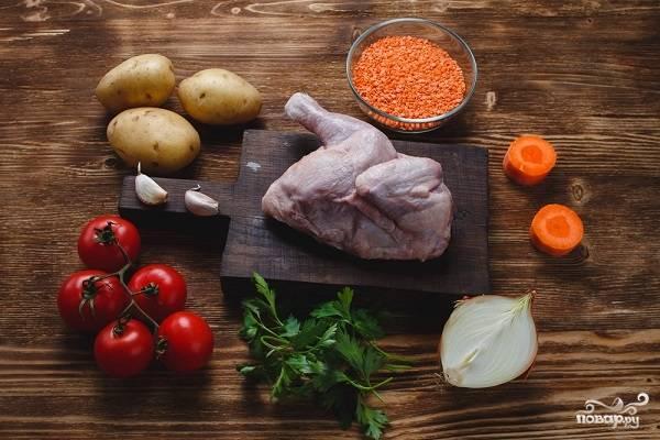 1. Перед вами все ингредиенты, которые потребуются, чтобы повторить это блюдо на вашей кухне.