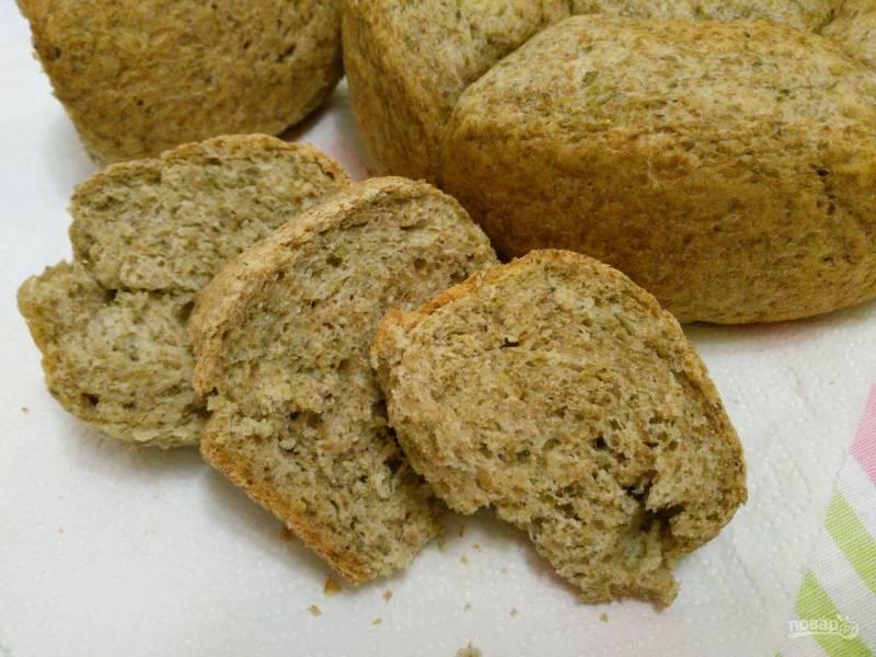 Дрожжевой хлеб из нори