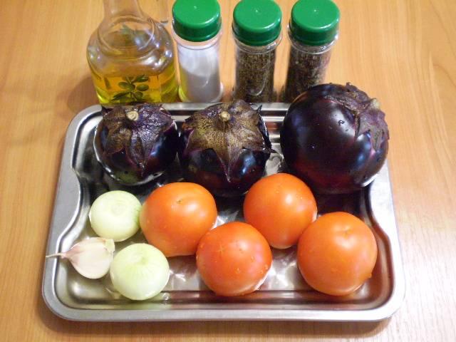 1. Приготовим овощи и специи.