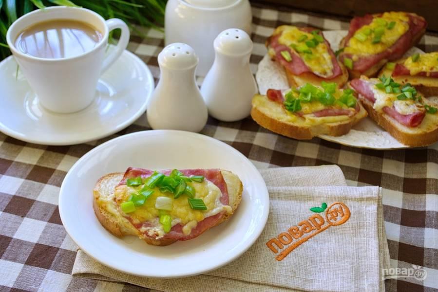Стрэндвич с индейкой и сыром