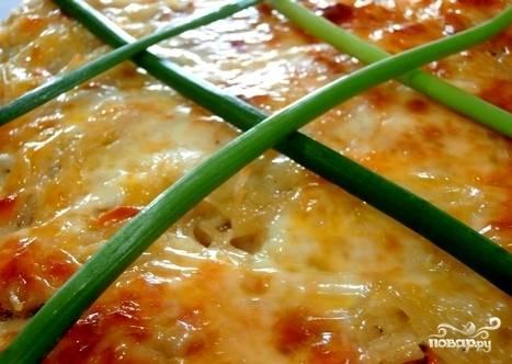 6. Запекаем до готовности  и образования румяной корочки. В среднем это блюдо стоит в духовке около 25 минут.