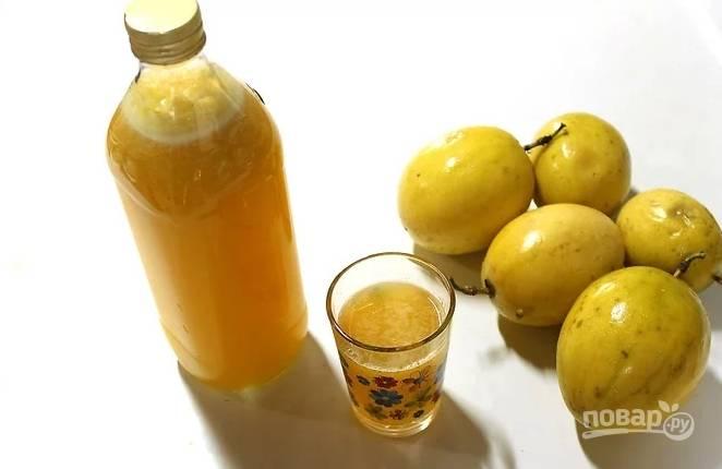 Натуральный сок из маракуйи