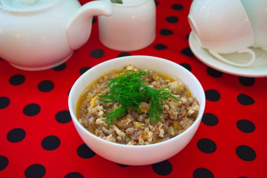 8. Проверьте блюдо на соль и специи и можно подавать к столу.