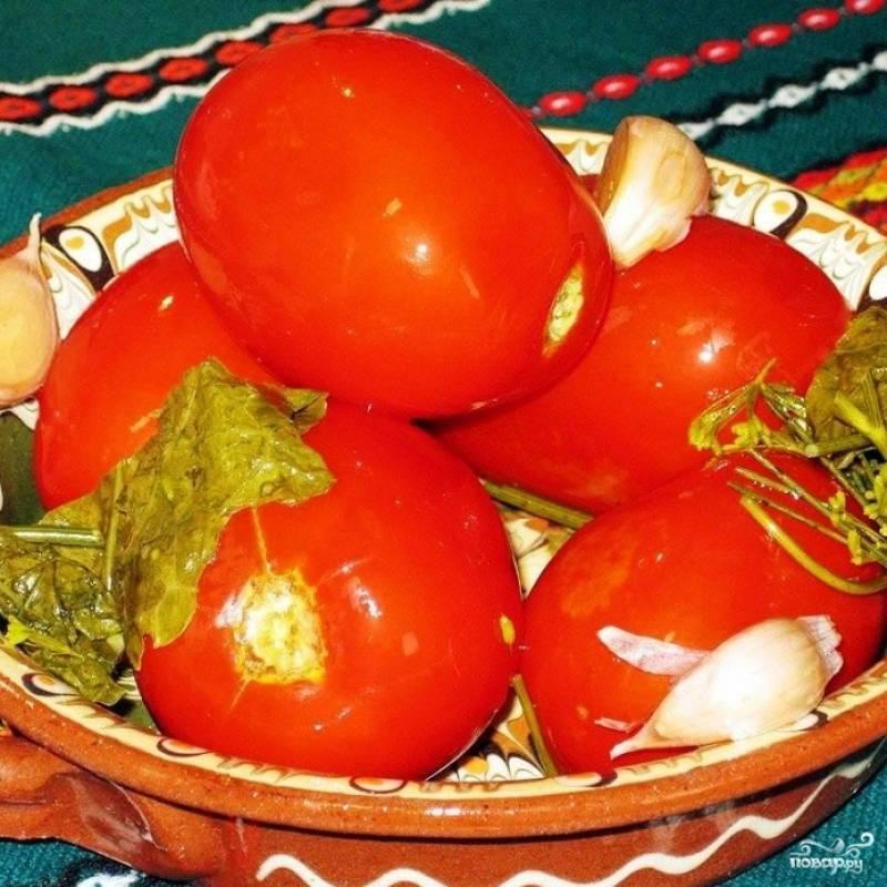 Квашеные помидоры готовы! :)