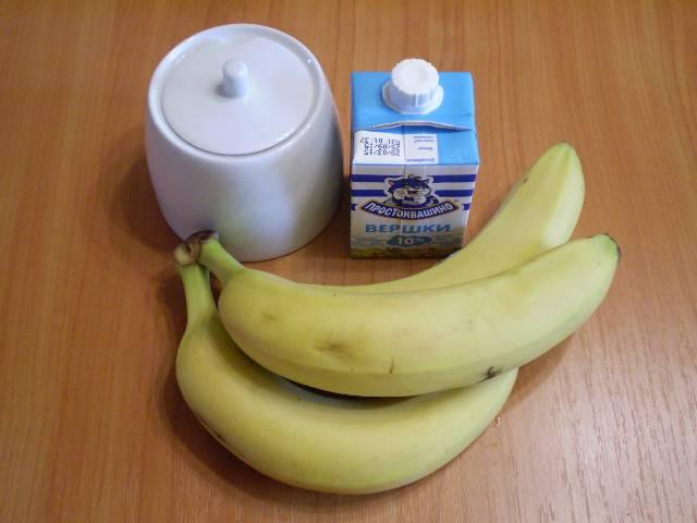 1. Приготовим продукты для мороженого. Чем выше процент жирности сливок, тем нежнее и вкуснее будет мороженое.