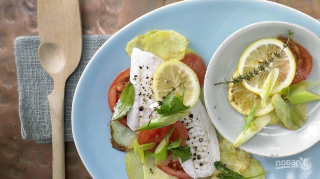 10.Разверните фольгу и переложите все ее содержимое в тарелку. Приятного аппетита!
